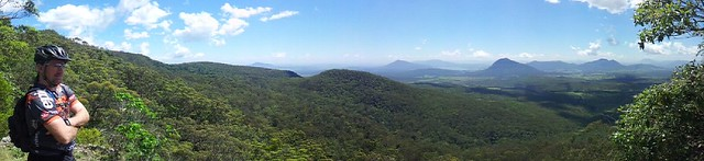 Governors Chair Lookout, Spicers Gap