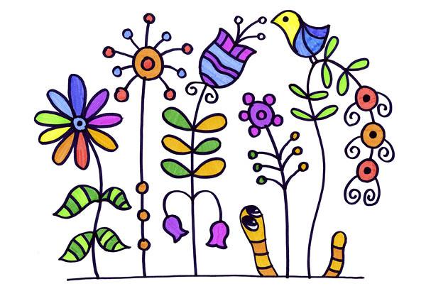 Червяк-и-цветы-002