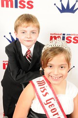 National American Miss Georgia and her Brother