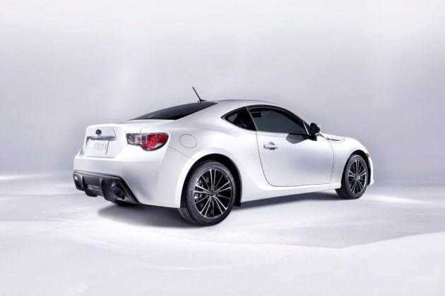 Subaru BRZ revealed