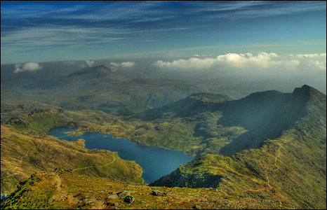 Summit of Snowdon