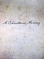 Truman Capote, Ricordo di Natale, Donzelli 2011; ill. col. di Beth Peck [resp. grafica non indicata]. p. dell'occhiello. (part.), 1