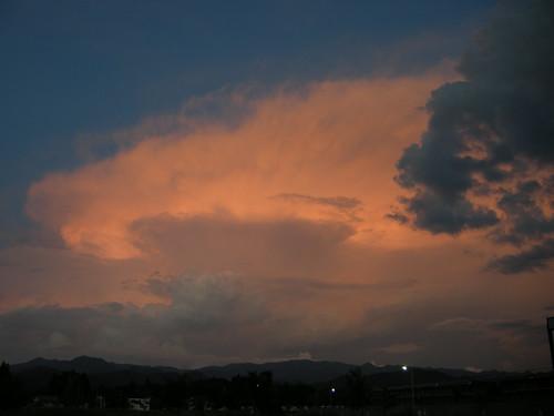 summer clouds 雲
