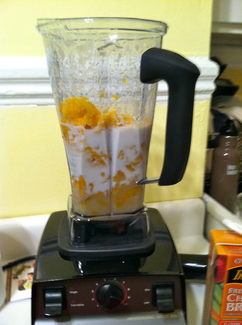 Acorn Squash Soup - Vitamix Blender