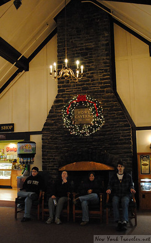 2 Howe Caverns Fireplace