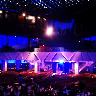 Christmas in Christ Chapel rehearsal!