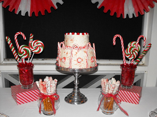 Peppermint Christmas Dessert Party