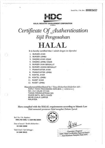 Sjiil Halal Ramly