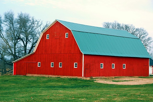 A Red Barn Flickr Photo Sharing