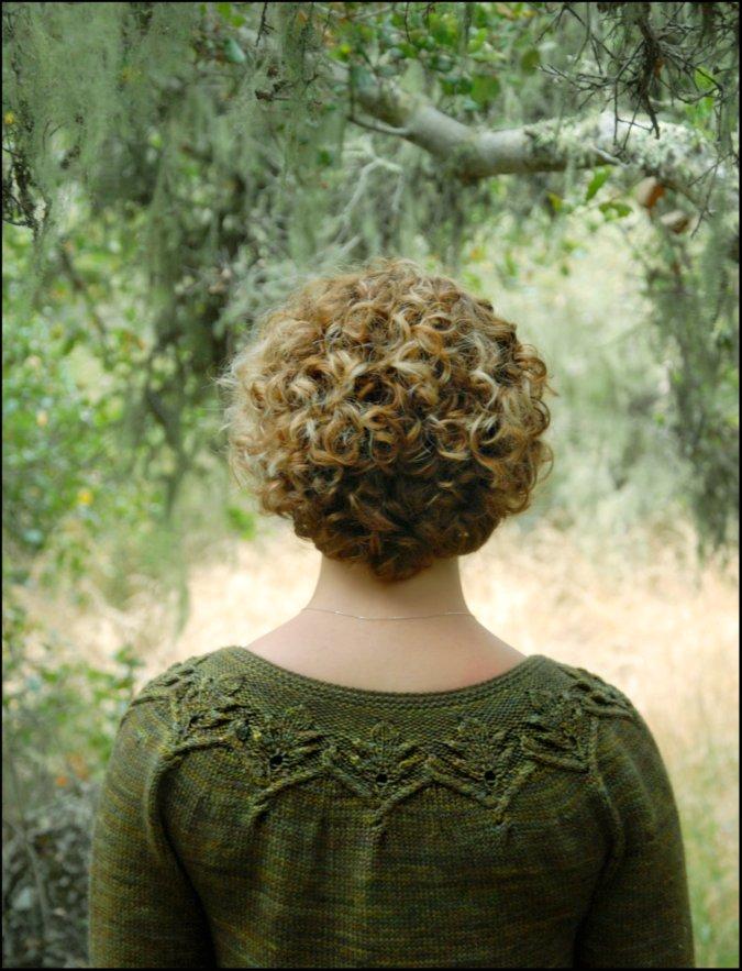 Knitting Pattern Leaf Motif : Never Not Knitting: Gnarled Oak