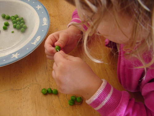 pea necklaces