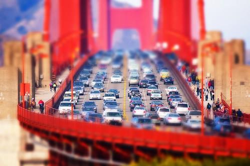 Mini Golden Gate Bridge