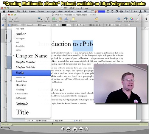 """Creating Multimedia eBooks"" Podcast available on http:__wfryer.me_ebooks"