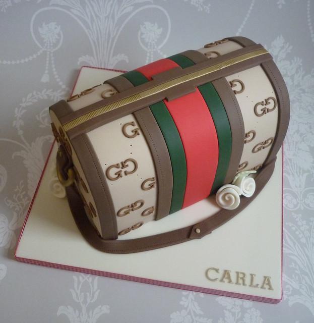Gucci handbag birthday cake Flickr - Photo Sharing!