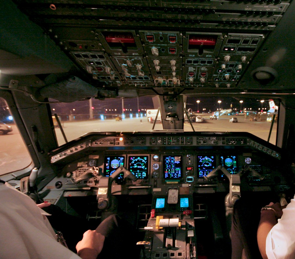 Cockpit of ERJ-145 by Andrey Belenko, on Flickr