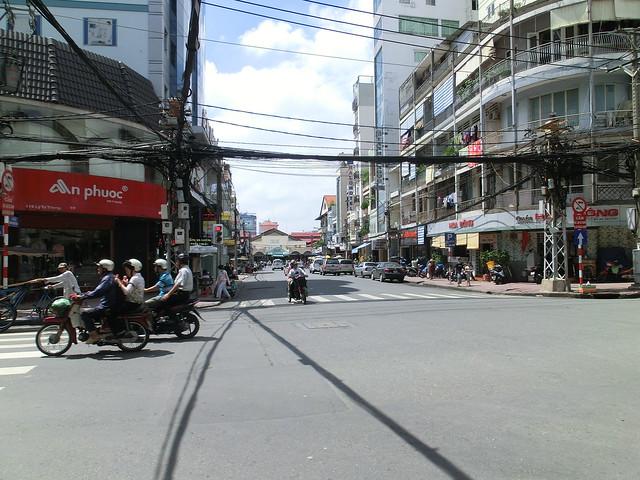 Near by Ben Thanh Market - Ho Chi Minh City, Vietnam