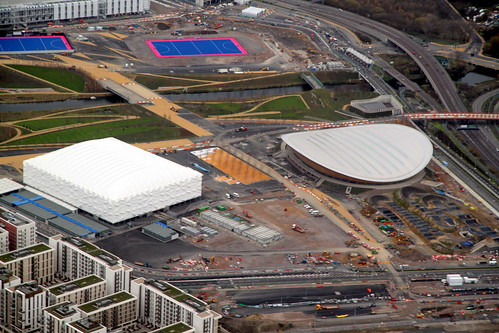 London 2012 Olympic Park - Velodrome & Basketball Arena