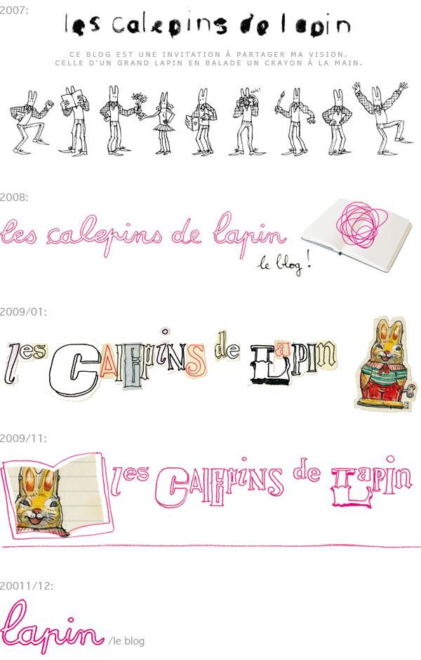 lapin /le blog