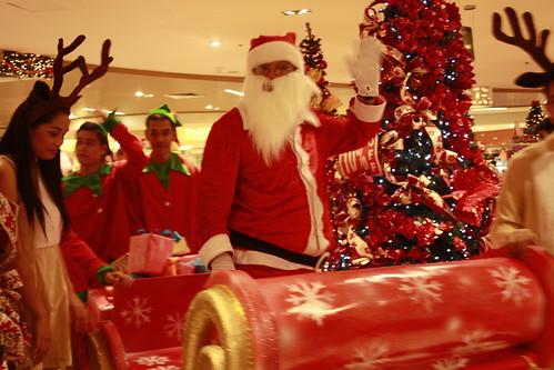 Landmark's Santa