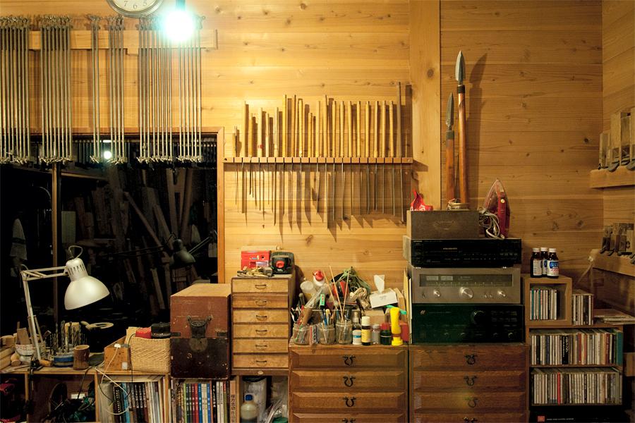木工作家の工房|滋賀県高島郡安曇川町