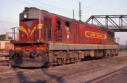 Indian Railways WDM4.