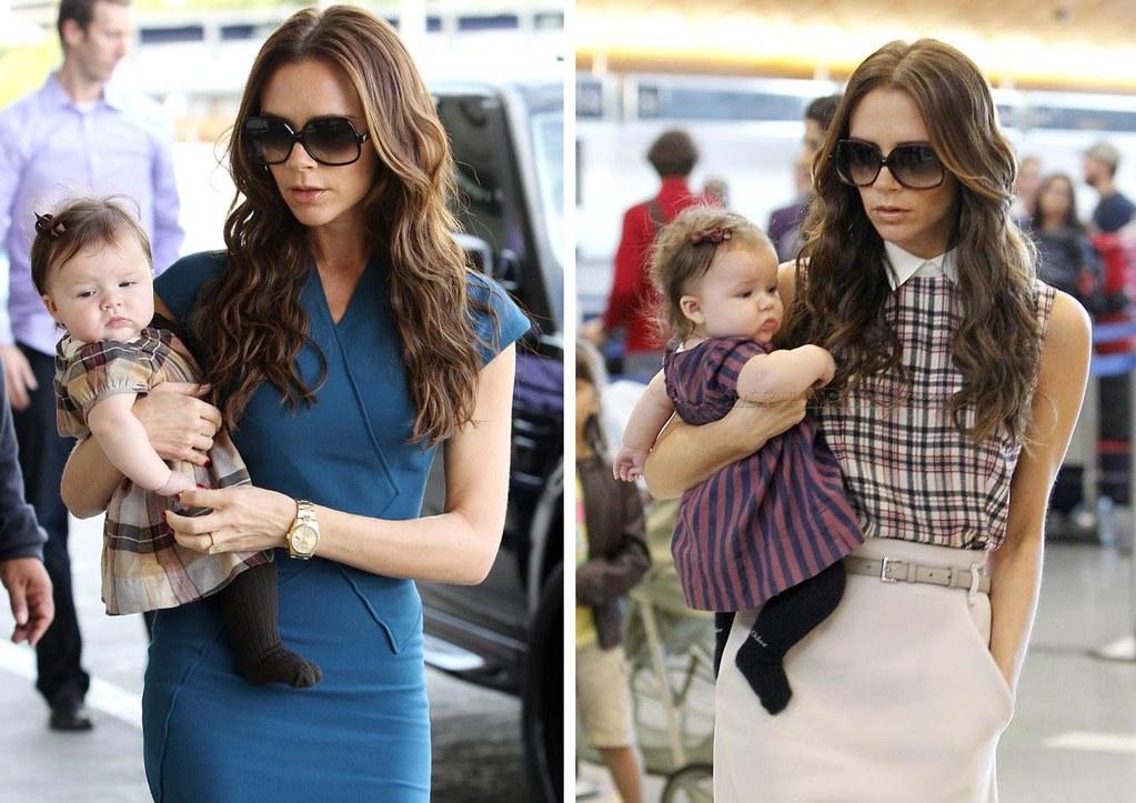 Victoria Beckham & Harper 2