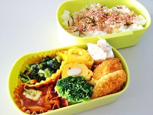 今日のお弁当 No.235 – たらこ
