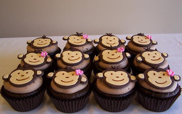 Monkey love cupcakes - photo#23