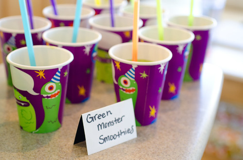 monster smoothies