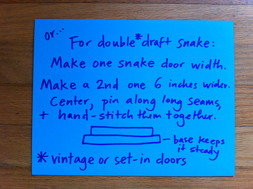 Double Draft Snake - variation