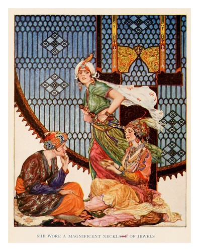 002-More tales from the Arabian nights 1915-ilustrado por Willy Pogany