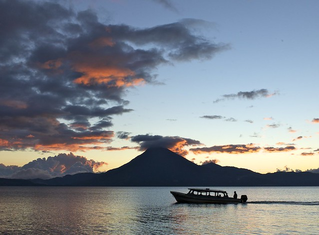 Sunset on Atitlan {explore}