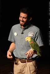 Peter Gilson of the San Diego Zoo reinforces the pre…