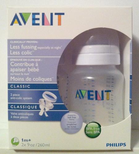 AVENT BPA-Free Baby bottles