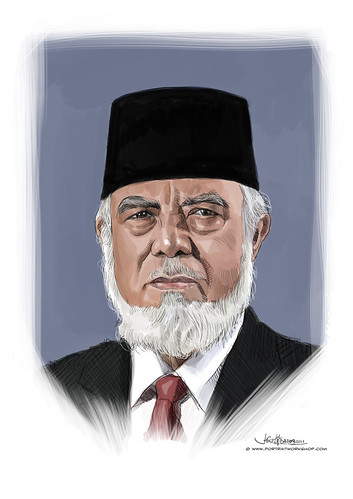 digital portrait of Syed Isa Semait