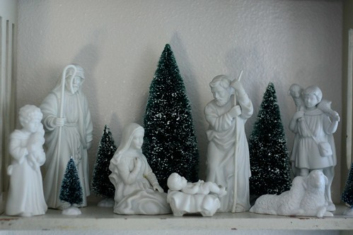 Nativity in White