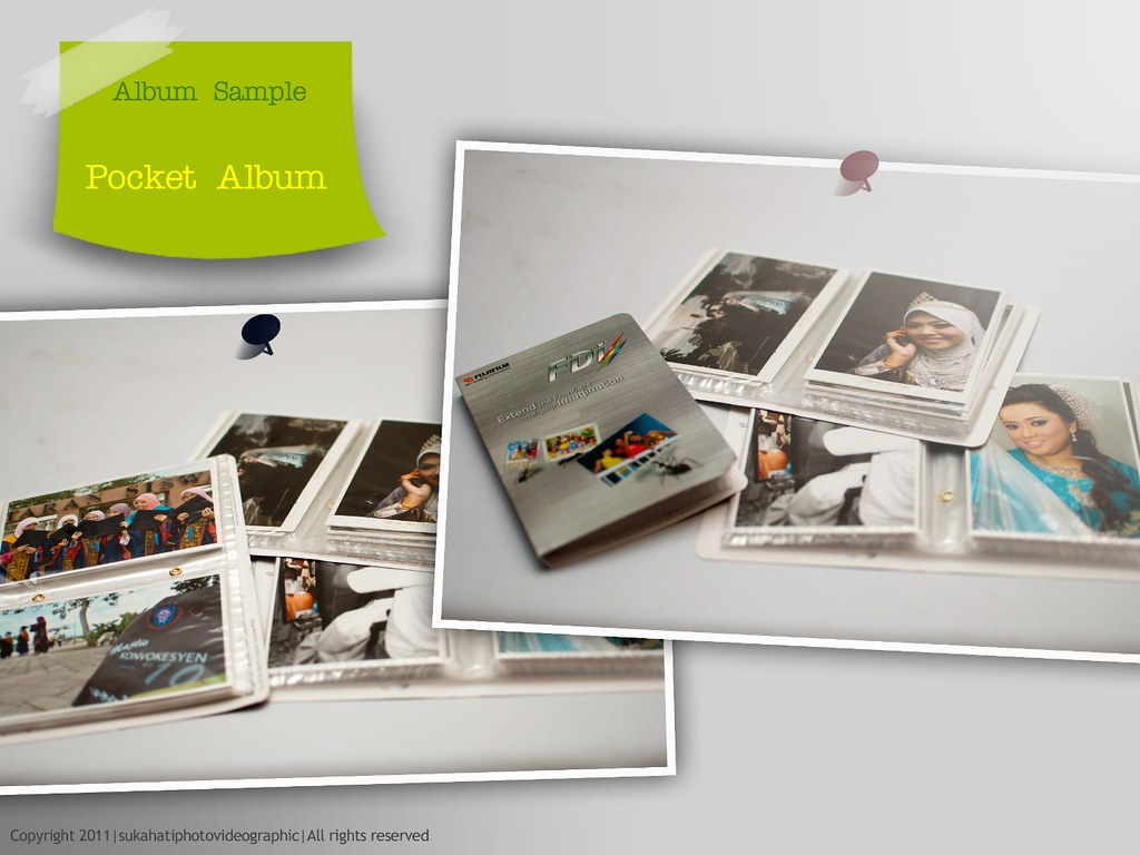 pocket album