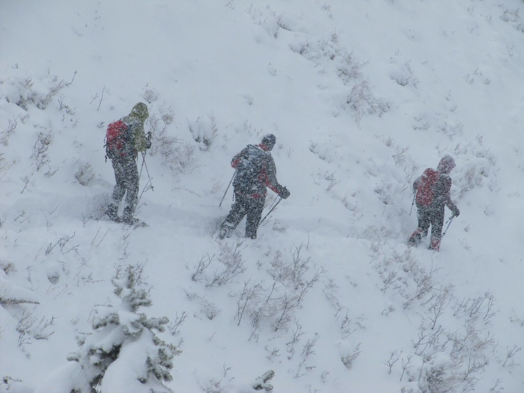 Heavy snow!