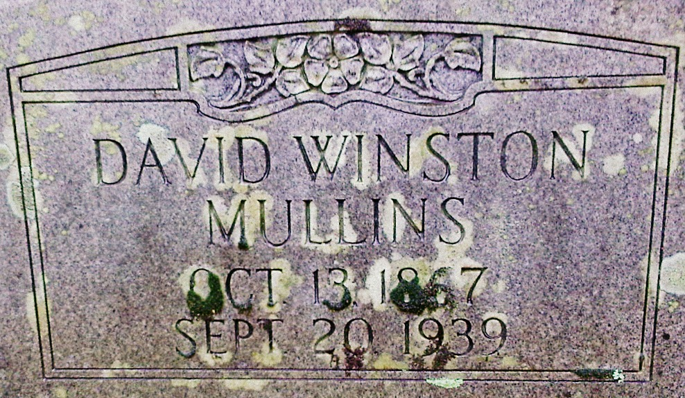 David Winston Mullins-Mullins Cemetery, Meriwether County, Ga