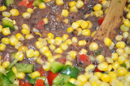 black bean soup with pork & veggies 30