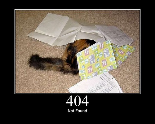 404 - Not Found by GirlieMac