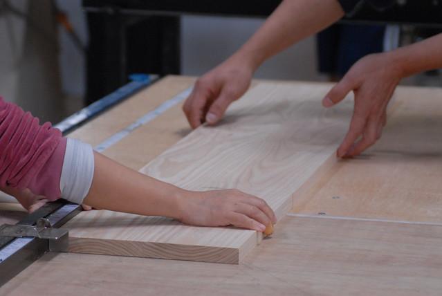 木作堂 鳩尾榫板凳製作 20111215_43