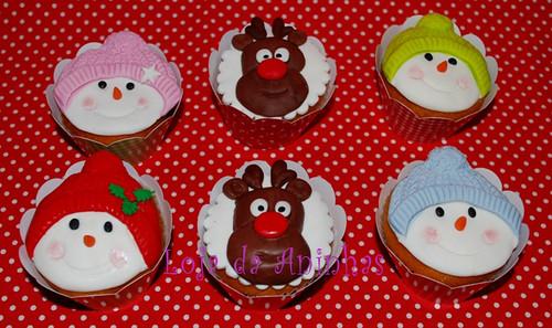 Cupcakes Natal by Aninhas_lisboa