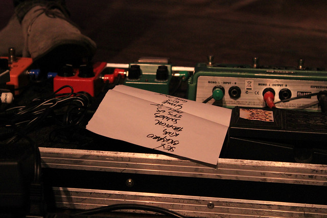 setlist do Copacabana Club no Flaming Night XIX *