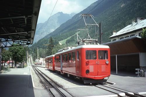 Trains de la Mer de Glace (France)