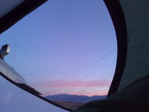Moring View from the tent