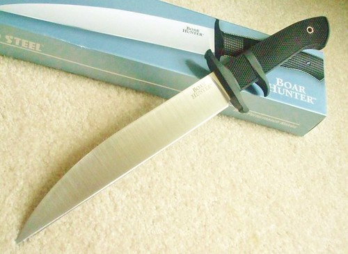 "Cold Steel Boar Hunter Subhilt 8.75"" Fixed Blade"