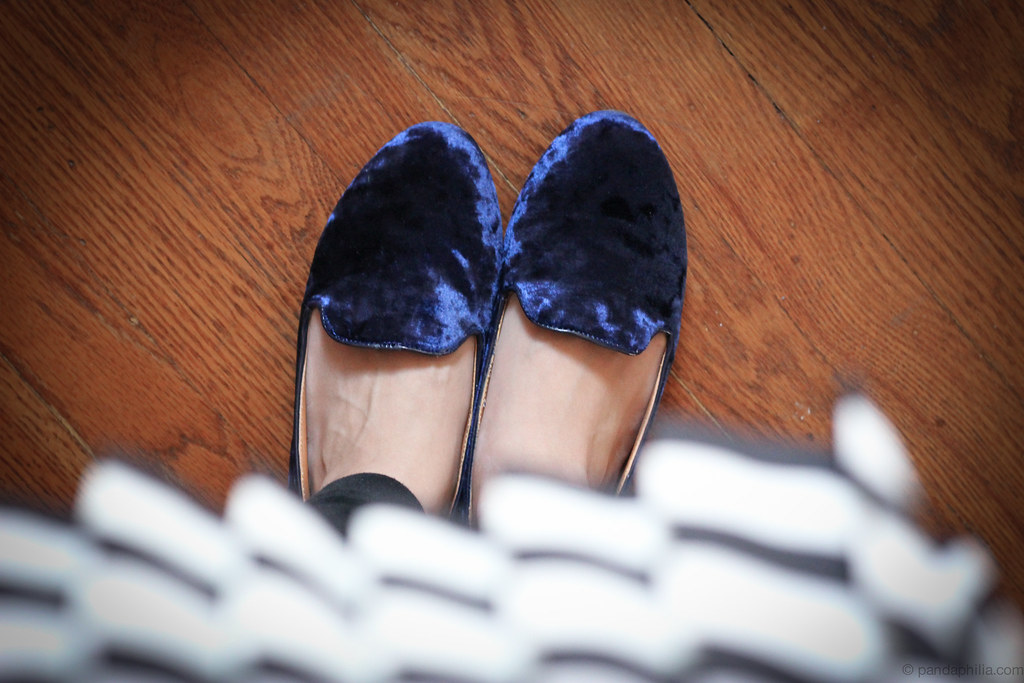 Blue Velvet Shoes Store