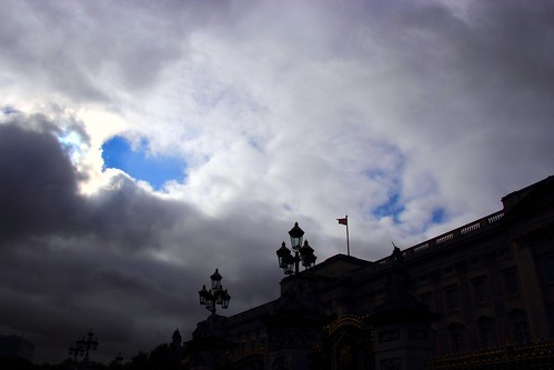 Hole in the Sky over Buckingham Palace