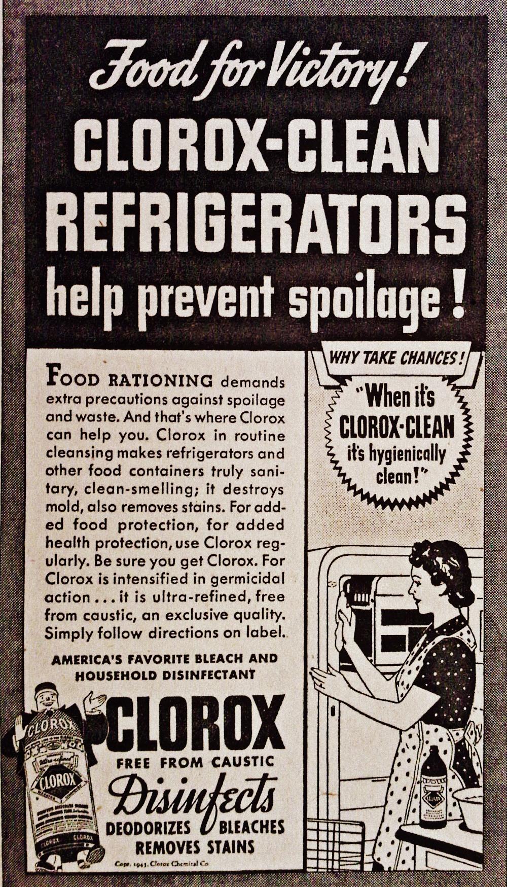 Clorox 1943